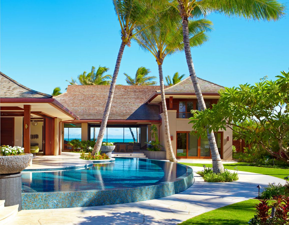 Nice houses on the beach - Building A New Home Here Are Some Tips Kohala Builders Hawaii Home Design
